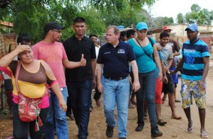 Guanipa: Decenas de comunidades quedan aisladas por mala vialidad