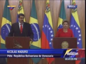 Maduro: Contamos con Brasil para el plan agrolimentario en Venezuela