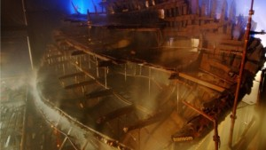 Reaparecen tesoros de barco hundido en 1545