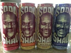 Shaquille O'Neal tendrá su propio refresco (FOTO)