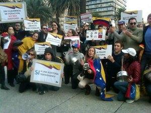 Disputa entre Gobierno y oposición venezolana se extiende al Cono Sur