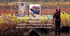 .@hcapriles: Inflación acumulada en Venezuela es gracias al enchufado mayor