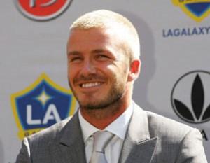 David Beckham y sus cambios de look (Fotos)