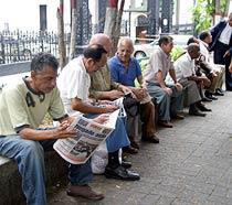 La tasa de desocupación se ubicó en 7,7% en marzo, según el INE