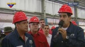 Maduro espera que en dos años funcionen las empresas estatales