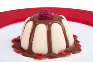 Postres: Mousse de chocolate blanco