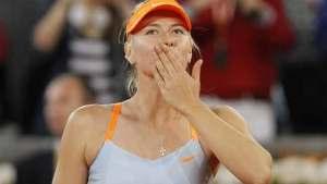 Sharapova en cuartos de final de Roma