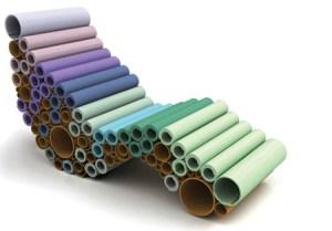 Geniales usos para tubos de cartón (Fotos)