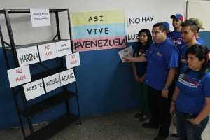 Venezuela sumergida en crisis por la escasez (Fotos)