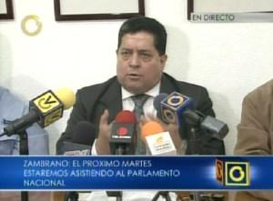 Piden restitución en comisiones de la AN y entrada de los medios a las sesiones (Video)