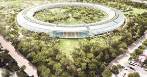 Apple construirá nueva sede en forma de Ovni