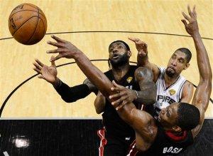 Los Heat y los Spurs en una final para la historia