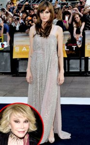 Joan Rivers sobre Angelina Jolie: Ya no podré bromear más con esa perra