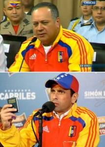 Diosdado se vistió de Capriles