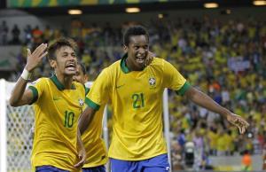 Así jugó Neymar ante México (Fotos)