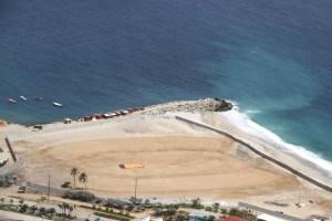 Comienza construcción del polideportivo para Suramericanos de Playa