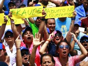 Venezolanos en el mundo marcharon contra el gobierno de Maduro