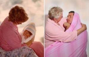 Antes y después: Las mejores fotos familiares