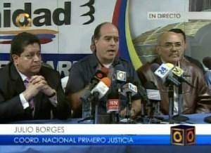 Julio Borges: Hemos logrado que nos escuchen en todas partes del mundo