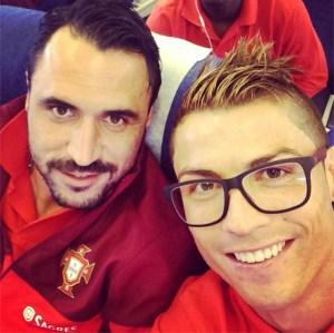 """Cristiano Ronaldo se muestra con un aspecto """"alocado"""" (Fotos)"""