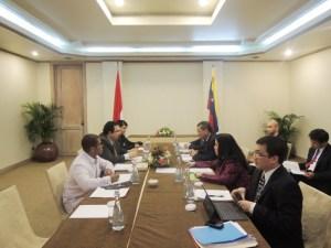 Indonesia y Venezuela firman acuerdos de cooperación comercial y energética