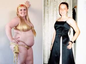 Modelo cumple dieta para…¡pesar 200 kilos! (Fotos + Video)
