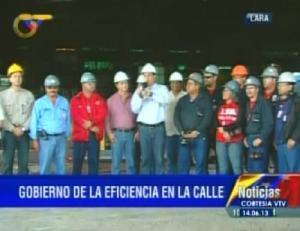 Trabajadores levantaron el paro en la Ferrominera del Orinoco (Video)