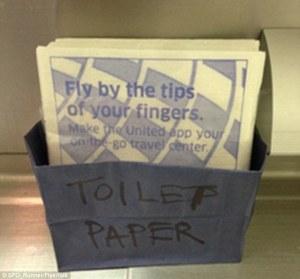 Once horas sin papel tualé en vuelo San Francisco-Londres