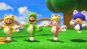 Ahora Mario Bros es un gato