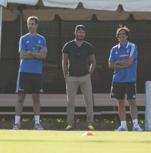 David Beckham con el Real Madrid (Foto)