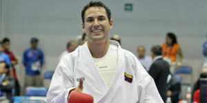 Ángel Aponte consigue medalla de plata para Venezuela en Karate Do, Juegos Mundiales Cali 2013