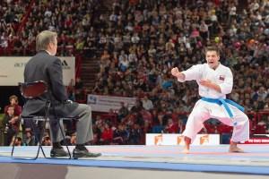 ¡Lo hizo! Antonio Díaz logró la medalla de oro del kata en los World Games