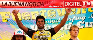 """José """"Gollito"""" Estredo campeón en Válida Mundial de Windsurf (Fotos)"""