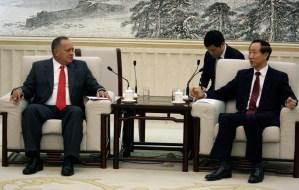Diosdado Cabello y su esposa viajan por China