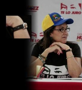 Na´guará la cantidad de relojes que tiene Jacqueline Farías (fotos y fotos y… fotos)