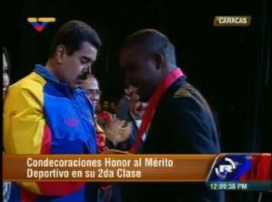 Presidente Maduro participa en Gala Deportiva 2013