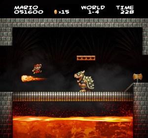 """Así sería """"Super Mario Bros"""" en HD (Fotos)"""