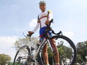Pedalista Tomás Gil aspira regresar a las competencias en octubre