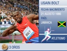 Usain Bolt asegura que está limpio de dopaje