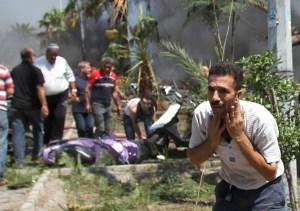 Al menos 42 muertos y 500 heridos en doble atentado en Trípoli