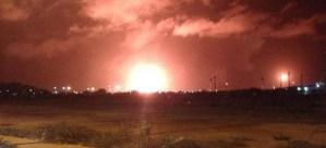 Incendio afectó planta catalítica de la refinería Cardón