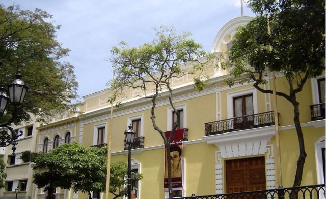 Fachada de la sede de la Cancillería venezolana (Foto archivo)