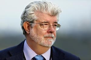 George Lucas tiene una hija a sus 69 años