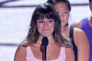 Lea Michele dedica a Cory Monteith su Teen Choice Award (Video)