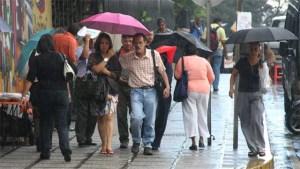 Persistirán las lluvias durante todo el domingo