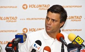 Leopoldo López: Diosdado debe responder por los colectivos, que son grupos paramilitares armados