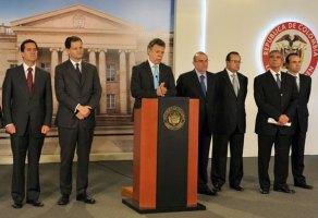 """Santos espera """"buenas noticias de La Habana"""" sobre proceso de paz"""