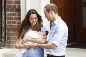 Los duques de Cambridge eligen a amigos como padrinos del príncipe Jorge