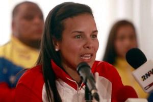 Juró lealtad al chavismo y ahora llora por sanciones: Alejandra Benitez ve lejos sus quintos juegos olímpicos (FOTO)