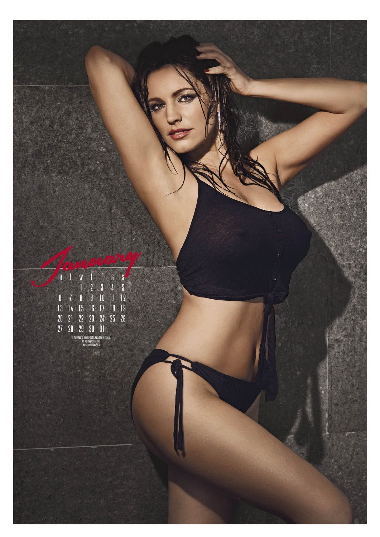 Bikini brooke calendar